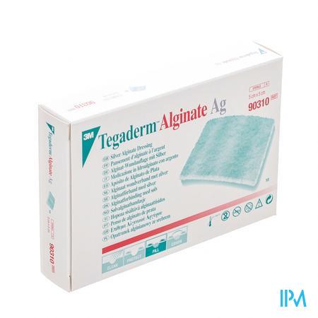 Tegaderm Alginate Ag 5cmx 5cm 10 90310  -  3M