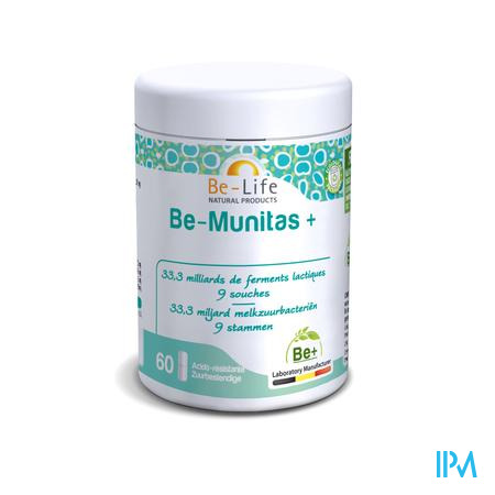 Be-Life Be-Munitas+ 60 capsules