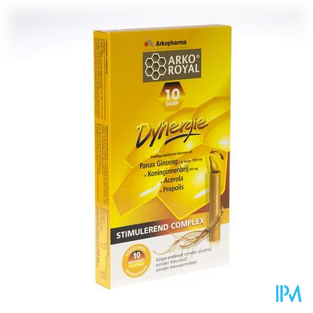 Arkoroyal Dynergie Unicadoses 10 unidosis