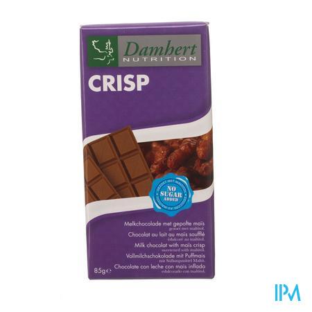 Damhert Chocolade Melk Crisp 85 g
