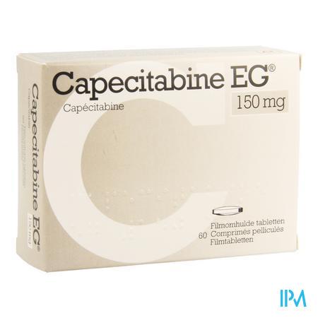 Capecitabine Eg 150mg Filmomh Tabl 60