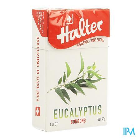 Halter Bonbon Eucalyptus Ss 40 gr