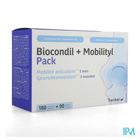 Biocondil Comp 180+mobilityl Caps 90 Verv.3304599