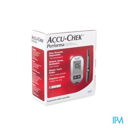 Accu Chek Performa Meetsysteem Bloedglucose