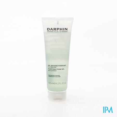 Darphin Gel Mousse Purifiant Peaux Mixtes/Grasses 125 ml tube