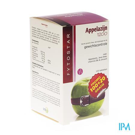 Fytostar Appelazijn 1200 Maxi 100+20 tabletten