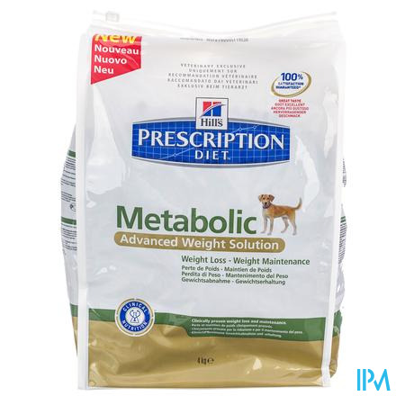 Hill's Prescription Diet Canine Metabolic 4 kg