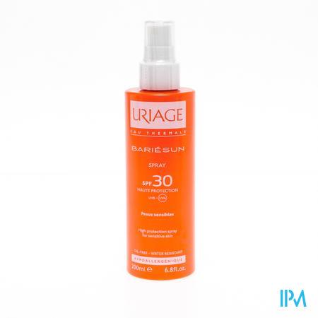 Afbeelding Uriage Bariésun Zonnespray met SPF 30 voor Gelaat en Lichaam 200 ml.