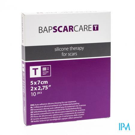 Bap Scar Care T 5cm x 7cm 10 pièces