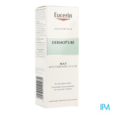 Afbeelding Eucerin Dermo Pure Mat Matterende Fluide voor Onzuivere Huid 50 ml.