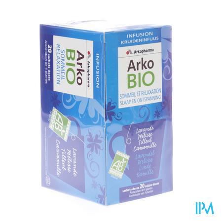 Arkobio Infusion Slaap & Relaxatie 20 x 1.5 g zakjes