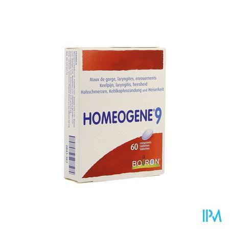 Homeogene N 9 Comprimés 60 Boiron