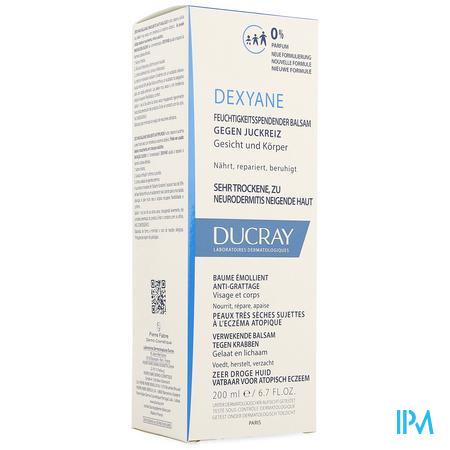 Ducray Dexyane Balsem A/krab Verzachtend 200ml Nf