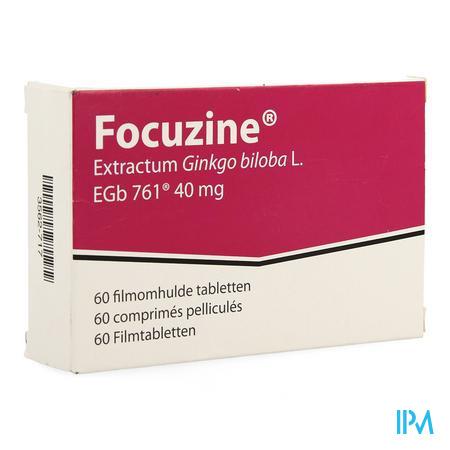 Focuzine 40 mg 60 tabletten