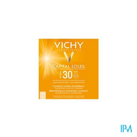 Vichy Capital Soleil Compacte Zonnecrème SPF 30 Golden Beige