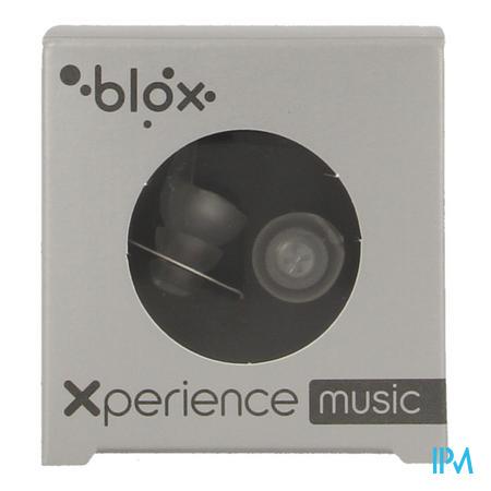 Afbeelding Blox Xperience Music Oordopjes met Akoestische Filter in Transparant 1 Paar.