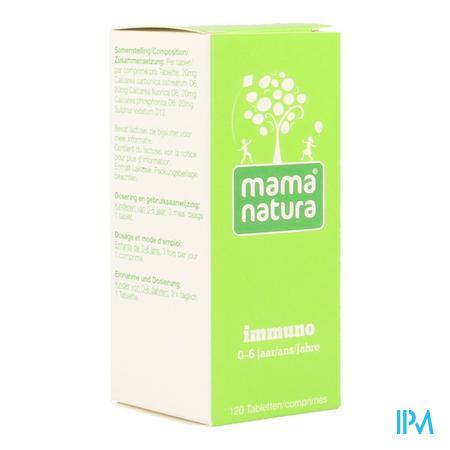 Mama natura immuno 120 tabletjes