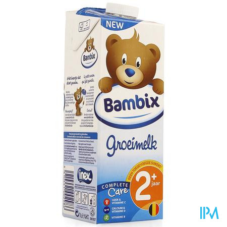 Bambix Groeimelk Natuur 2+ 1l