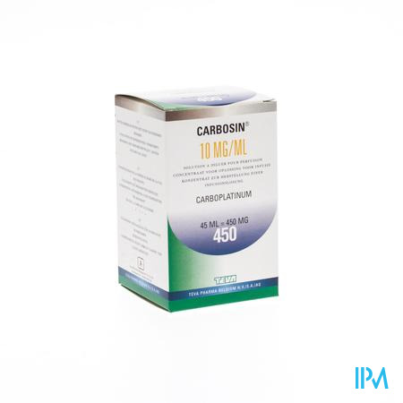 Carbosin 450mg Vial Iv 45ml 10mg/ml