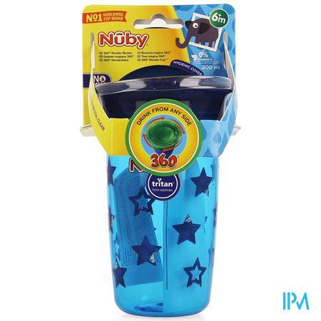Nuby 360° Wonder Cup Uit Tritan 300ml Blauw 6m+