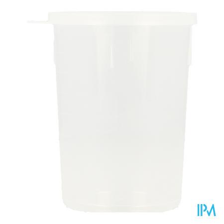 Pot Urine + Deksel N/st 200ml Vf-med