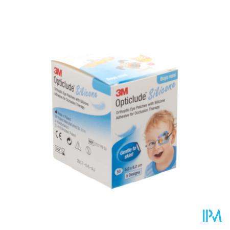 Opticlude 3m Silicone Eye Patch Boy Mini 50