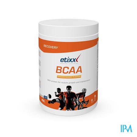 Afbeelding Etixx BCAA Poeder met Sinaasappel-Mangosmaak 300 g.