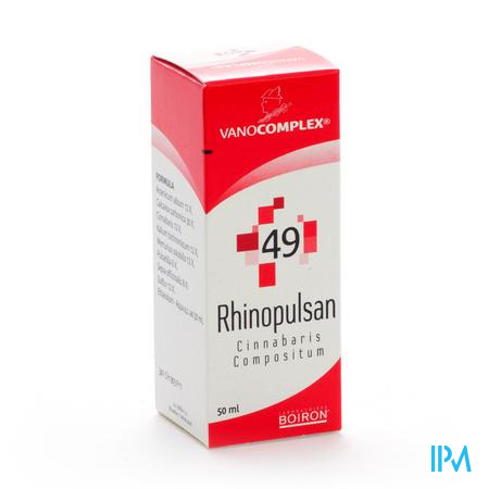 Vanocomplex 49 Rhinopulsan 50 ml
