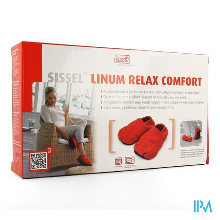 Sissel Linum Relax Comf.warmtepant.lijnz.36-40rood