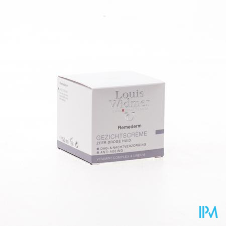 Widmer Remederm Gezichtscreme Parf 50ml