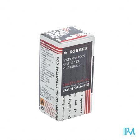 Korres Parfum Men Vetiver 50 ml flacon
