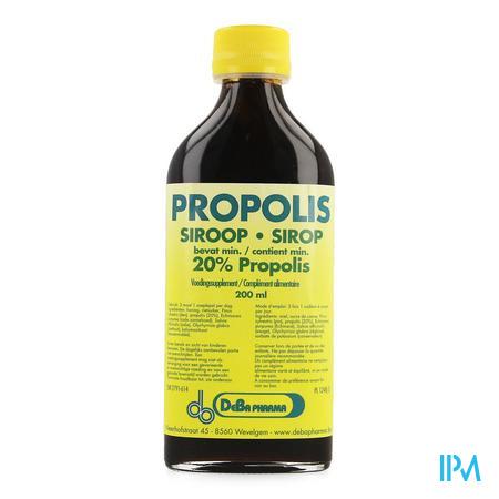 Propolis Sirop 20% 200ml Deba