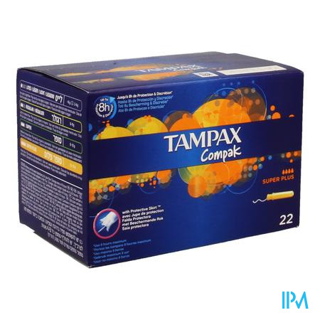 Tampax Compak Super Plus 22