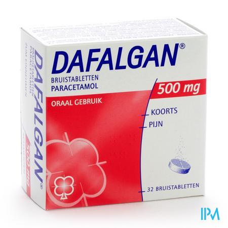 Dafalgan Bruis 500 mg Tabletten 32