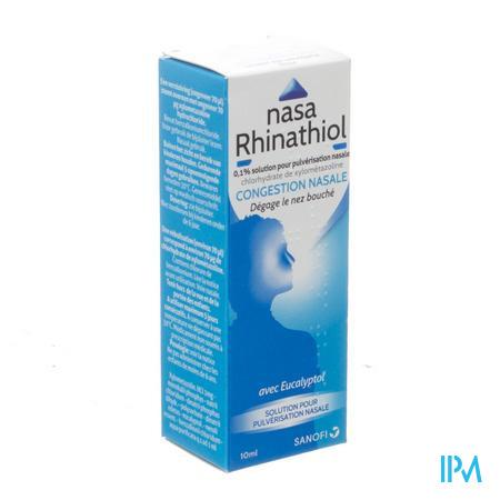 Nasa Rhinathiol 0,1% Flacon Microdos 10 ml Ad