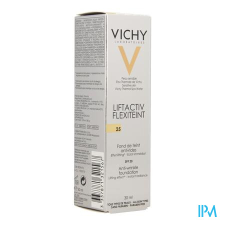 Vichy Fdt Flexilift Teint A/rimpel 25 Nude 30ml
