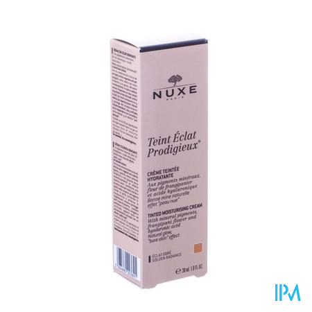 Nuxe Teint Eclat Prodigieux 02 Eclat Doré 30 ml tube