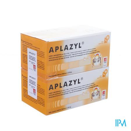 Aplazyl Hond/Kat 600 tabletten