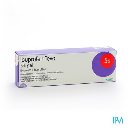 Ibuprofen Teva 5% 120 g gel