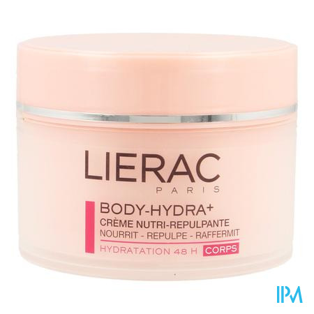 Afbeelding Lierac Body-Hydra+ Voedende en Verstevigende Crème voor Lichaam Pot 200 ml.