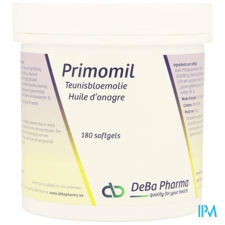 Primomil Capsule 180x1000 mg  -  Deba Pharma