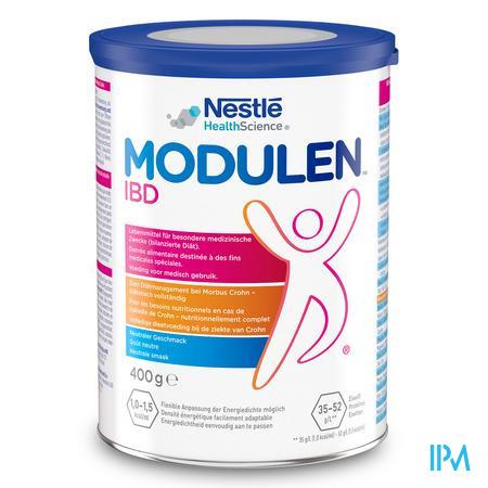 Modulen Ibd Poeder Bte 400 gr 12259922  -  Nestle Belgilux