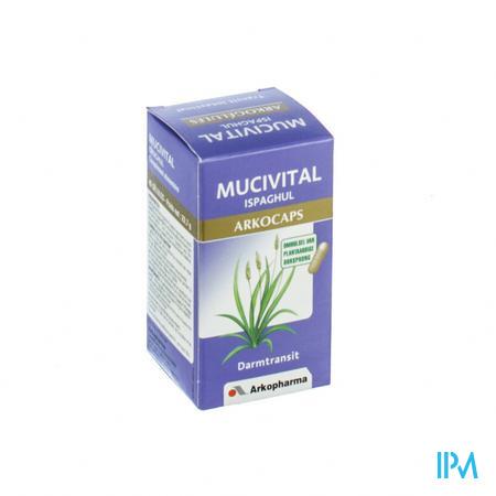 Arkocaps Mucivital Ispaghul Plantaardig 45 capsules