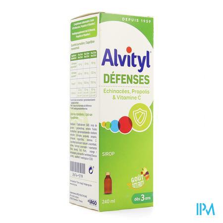 Alvityl Defenses Sirop Fl 240ml