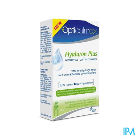 Opticalmax Hyaluron Plus 10 ml