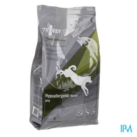 Trovet HPD Hypoallergénique Chien (Cheval) 3 kg