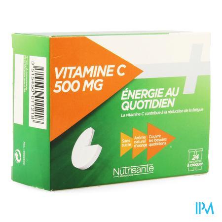 Vitamine C 500mg Kauwtabl Tube 2x12