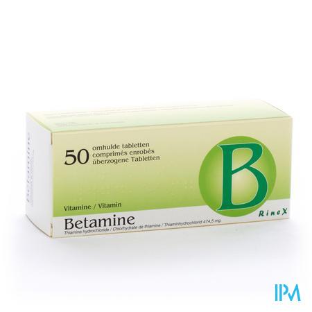 BETAMINE 500  50DRAG