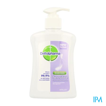 Dettolpharma Sensitive Gel Lavant Glycérine 250 ml