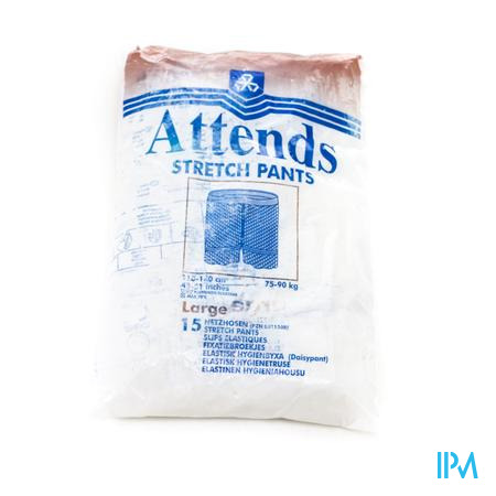 Attends Slip Stretchpant Fixatie Large 15 stuks